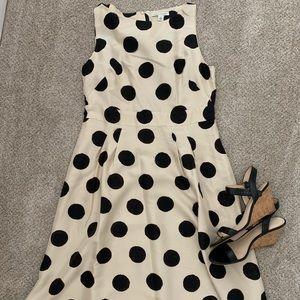 Banana Republic Scribble Dot Dress